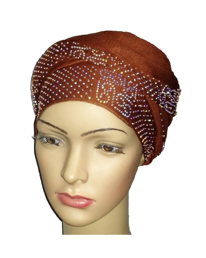 new     regal turban vendla print - cocoa brown   n5,800   ( sold out)