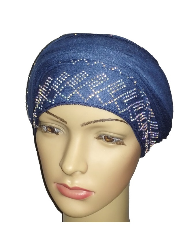 new    regal turban diamond design - atlantic blue   n5,800