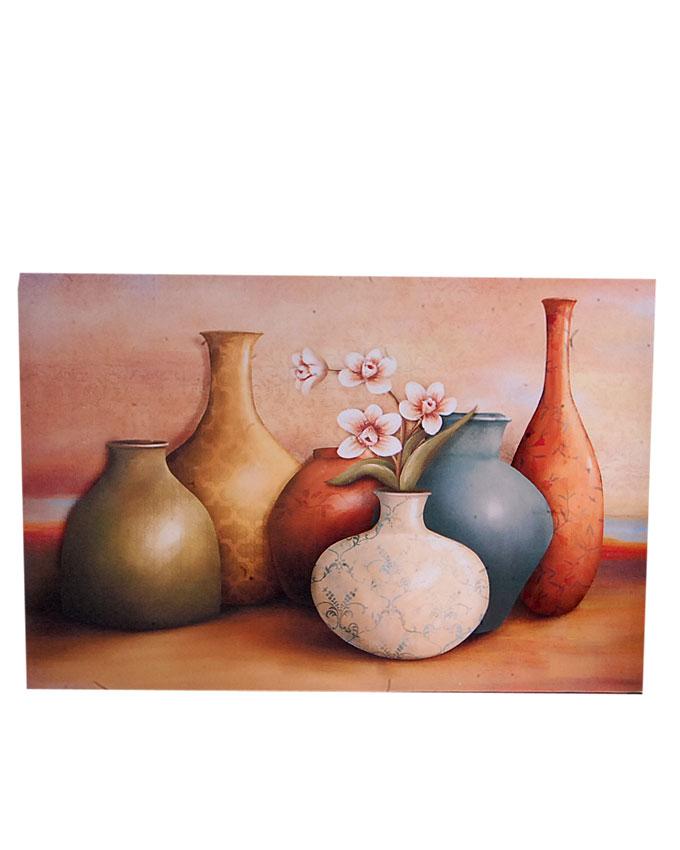 new    vista vase design frameless painting   n4,500