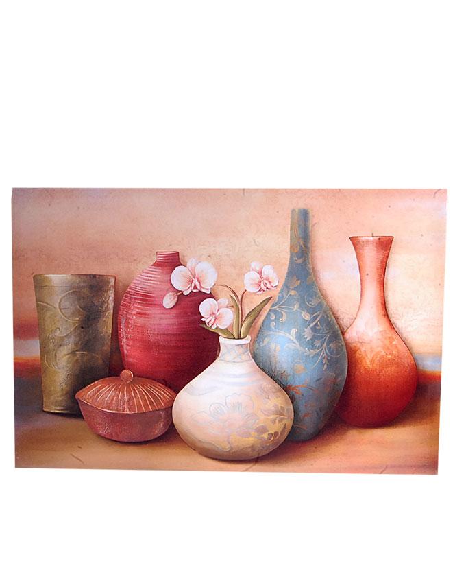 new   vienna vase frameless painting- 60 X 40cm   N4,500