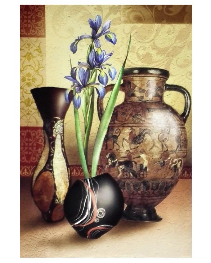 tampii urn frameless painting - 40 x 60cm   n4,500