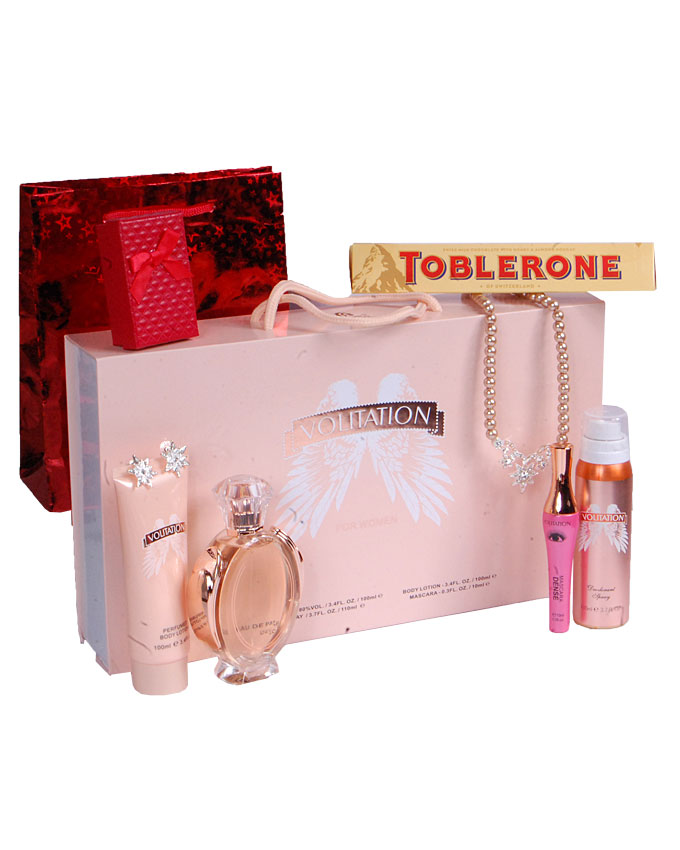 VOLITATION GIFT SET ( TEDDY AND CANDLE)   W/ CHOCOLATE AND EARRINGS - N15,000  W/O CHOCOLATE & EARRINGS   - N10,000