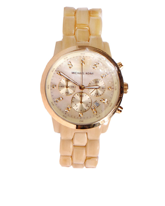 MICHAEL KORS TORTOISE SHELL WATCH   N97,500