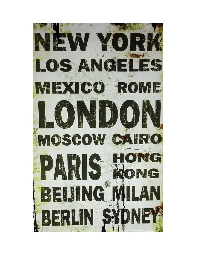 cosmopolitan city painting   n11,000