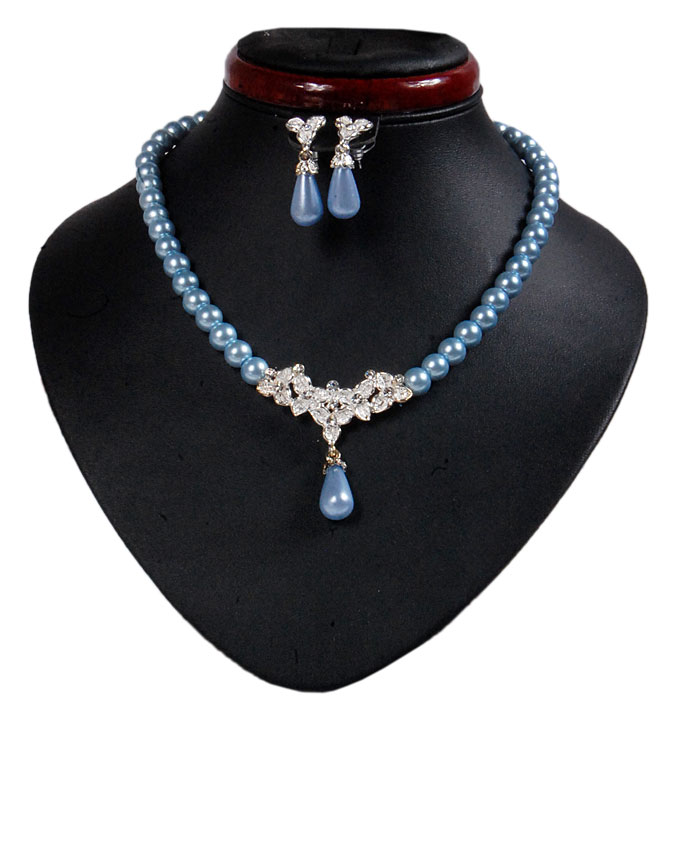 new    osterley pearl set - baby blue   n2,500