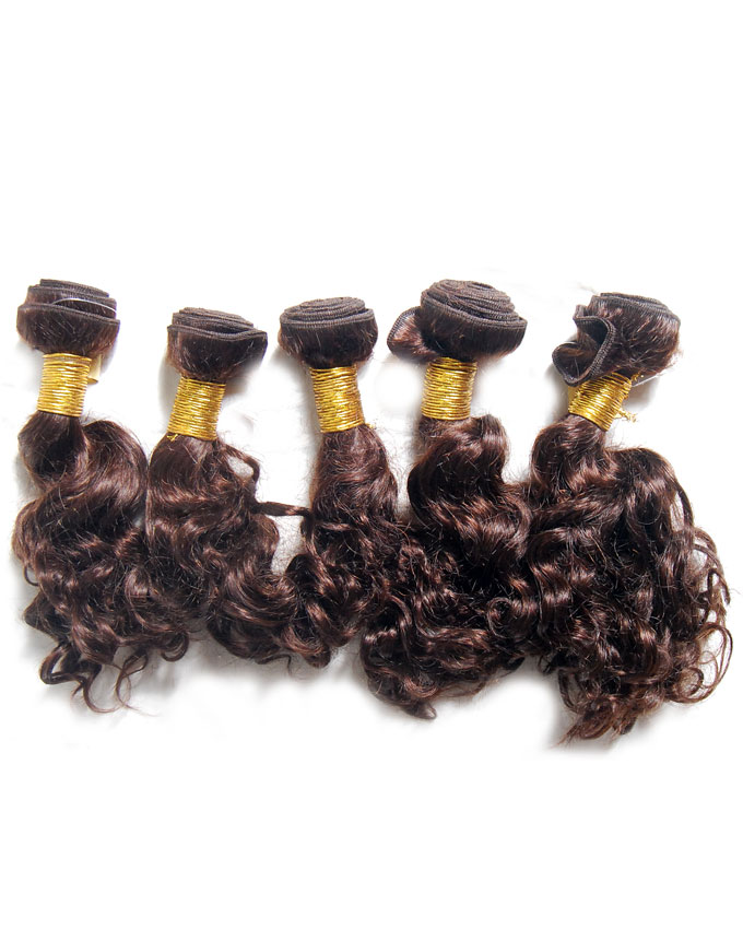"brazilian remy loose curls   10""                -     30.000  One roll of each weighing 300g. Enough for a full head."