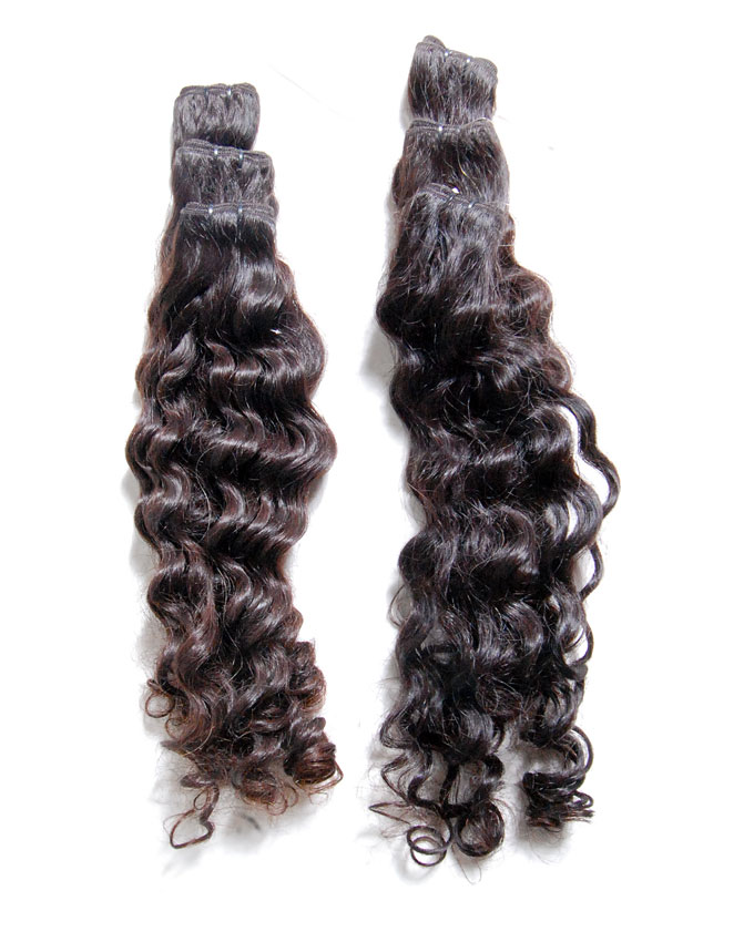 "indian remy curly   26""           -        price coming soon     per pack of 6 rolls weighing 300g. Enough for a full head."