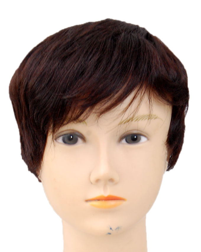 DORCAS HUMAN HAIR WIG #2    8 INCHES -  18,500