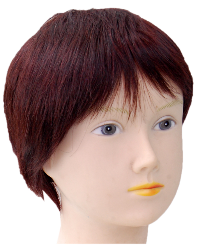 VIVIAN HUMAN HAIR WIG - COLOR 2   8 INCHES -  18,500