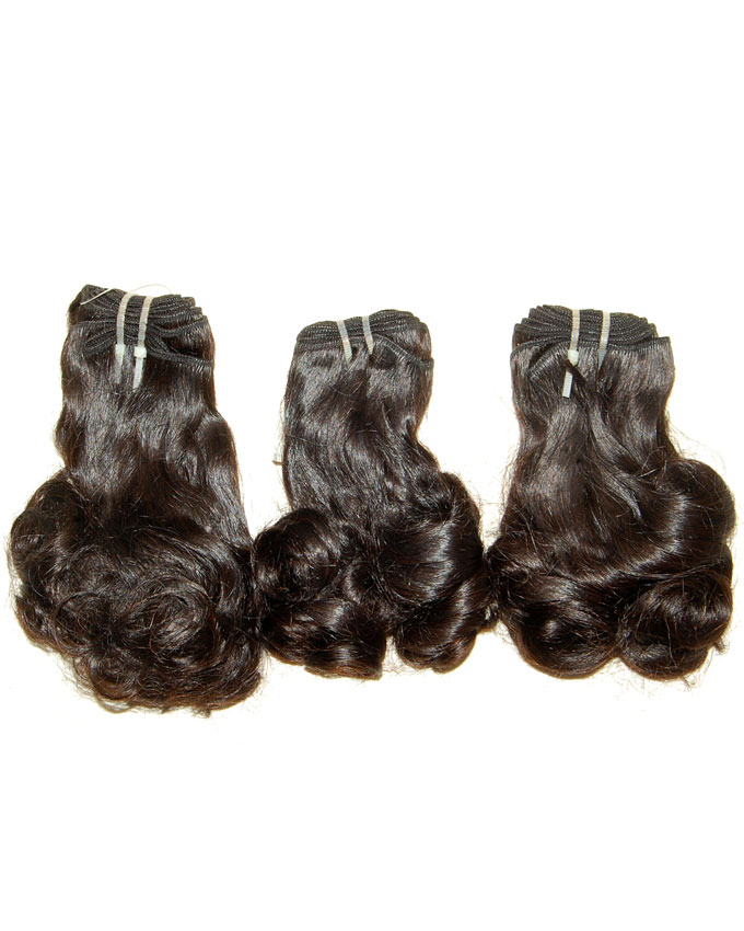 "funmi curly tips   12""          -        45,000  16""          -        52,000  per pack of 3 rolls weighing 300g. Enough for a full head."