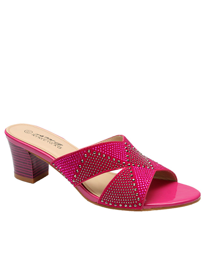 emma cut out slippers - pink   eu size 37, 38, 39, 40  n9,000