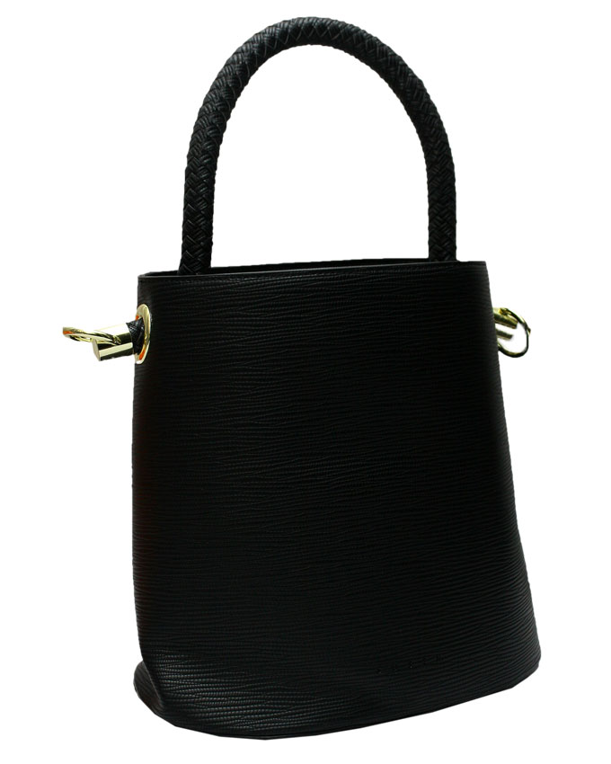 WESTCHESTER BUCKET BAG - BLACK ( side)   N20,000