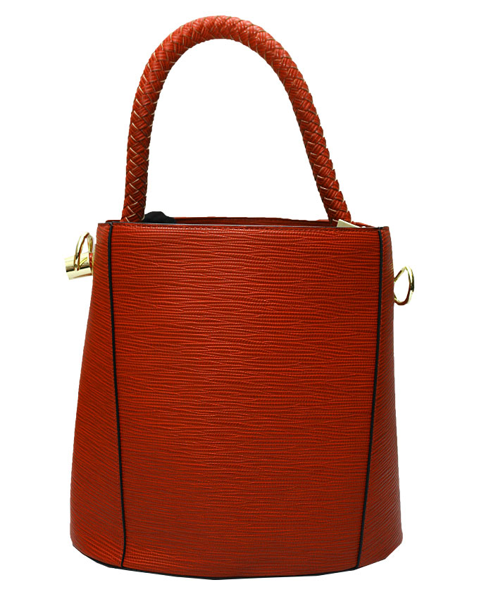 WESTCHESTER BUCKET BAG - red ( FRONT)   N20,000