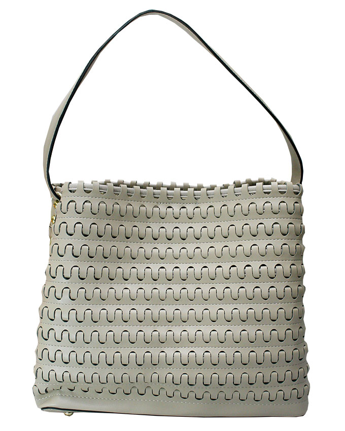 mayfair weave bag - khaki ( back view)   n25,000