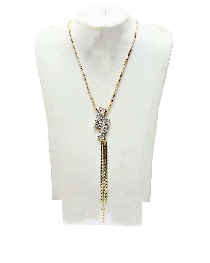 covey hills necklace - gold   n4,000