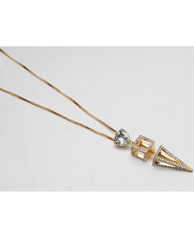 cubicle necklace - gold   n4,000