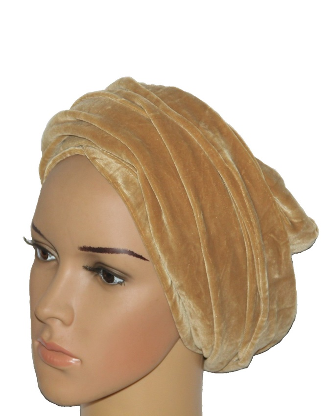 PLAIN SOFT VELVET TURBANS - AVAILABLE IN OVER 10 COLORS