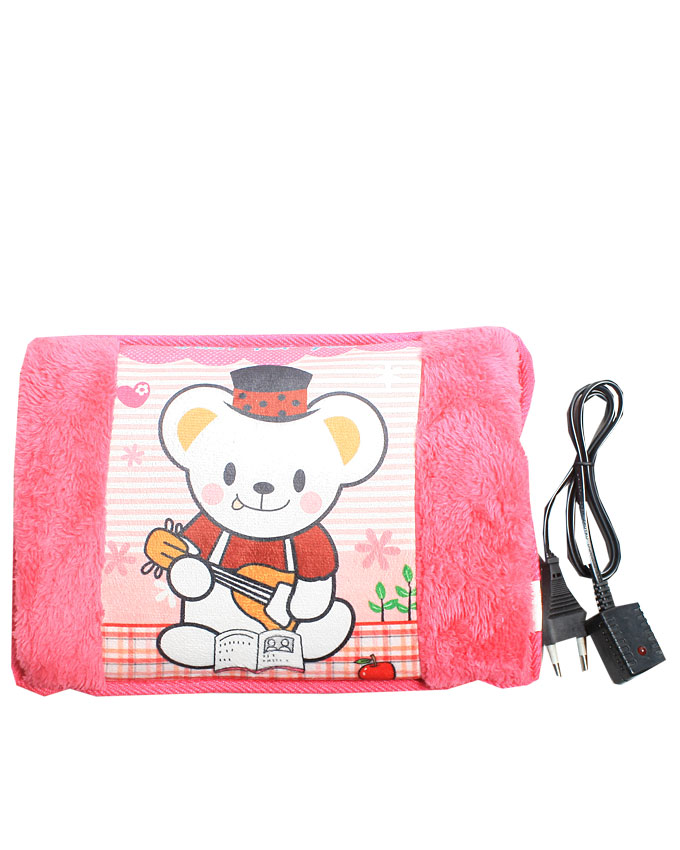 teddy bear with a guitar - pink   n6,000