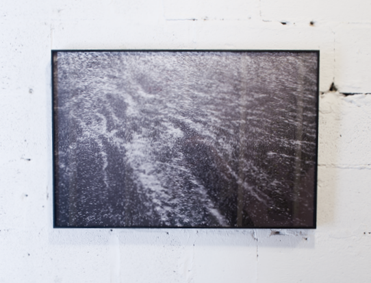 Michael Vallera   Run Up (Zuma)   Framed archival pigment print  2015