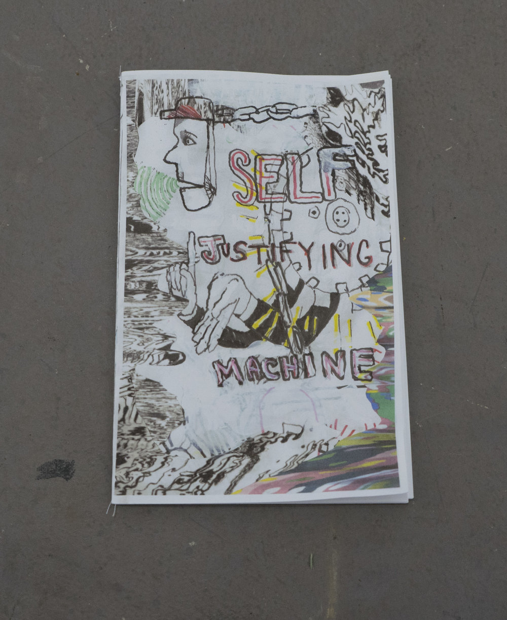 Self Justifying Machine  - zine by Matt Christy