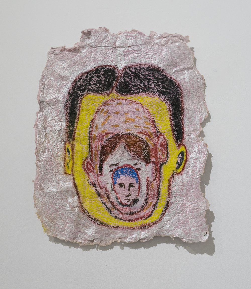 The Immediate Lack of Accounting for the Past     Matt Christy   Pastel on handmade paper  2015