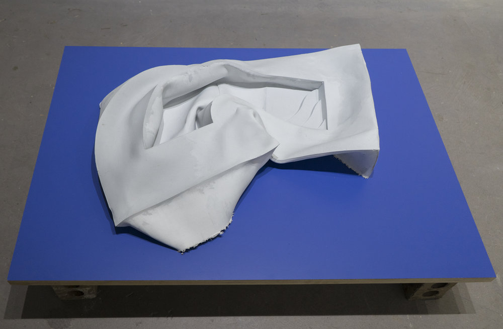 Grey Pool   John Dickinson  Silicone, laminate, MDF  2015