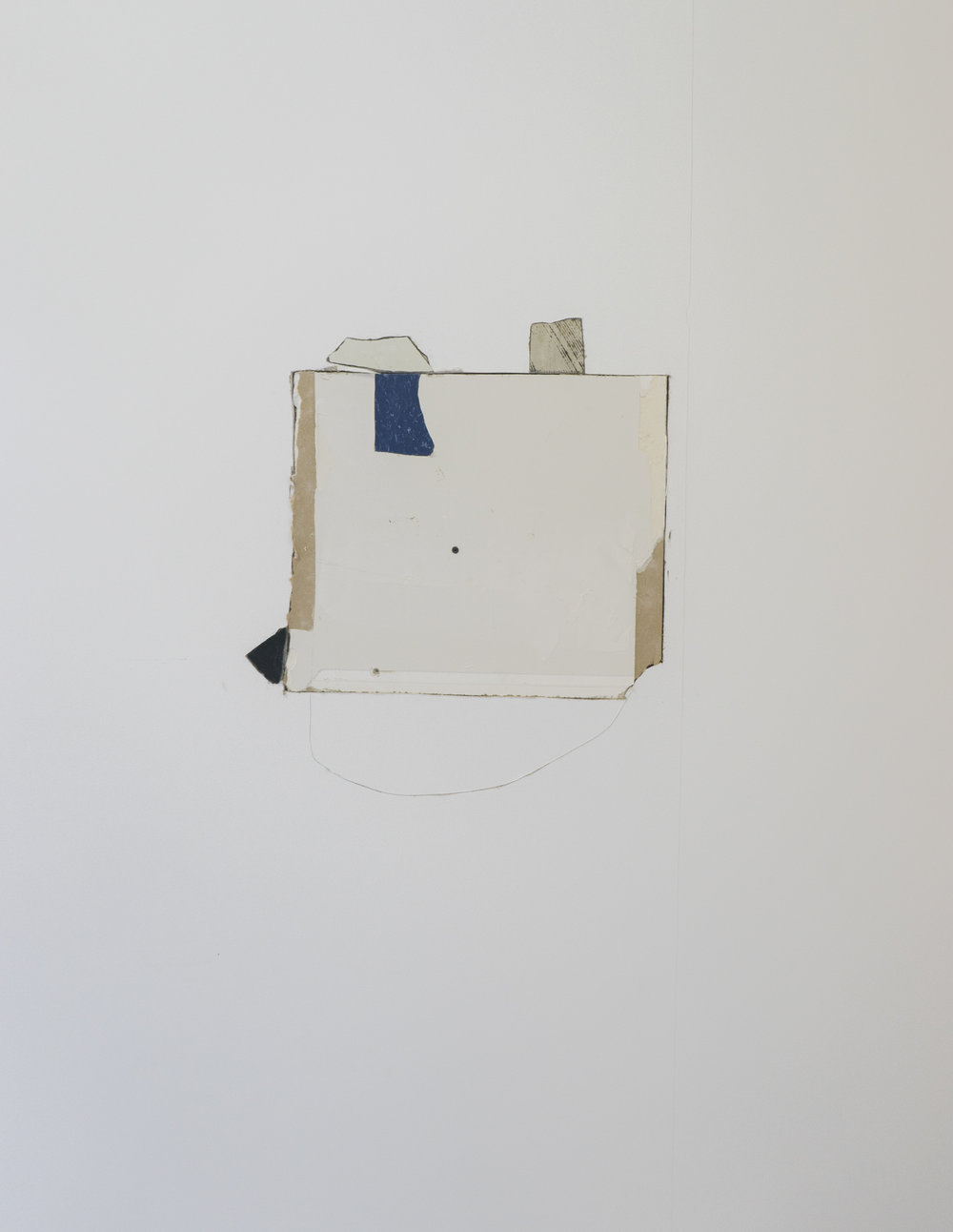Will Tucker   fermented firmament   2015-2017  gypsum board and VCT fragments