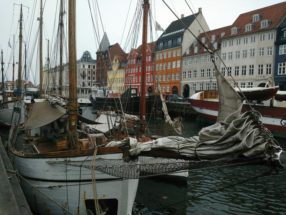 Copenhagen, you always shine. Even in the rain.