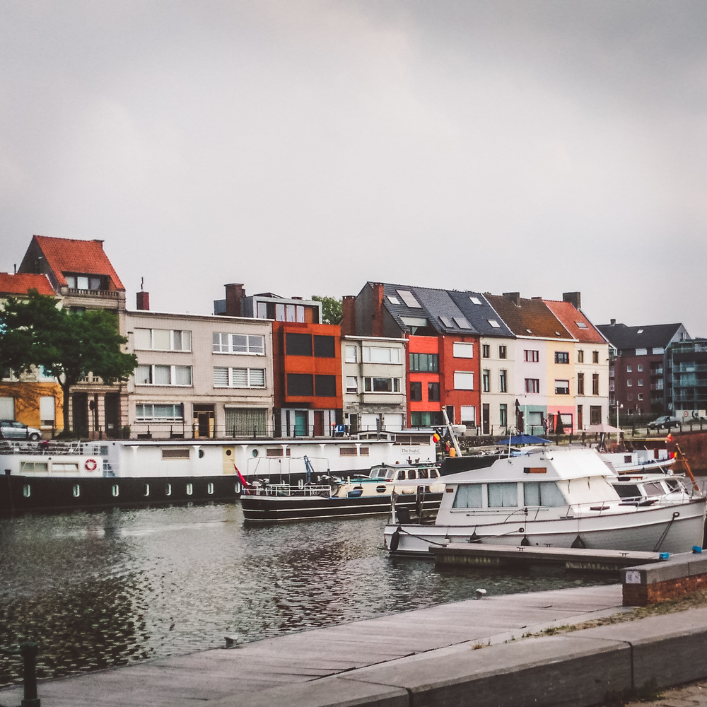 expat, Gent, Belgium, boats, harbour, haven, water