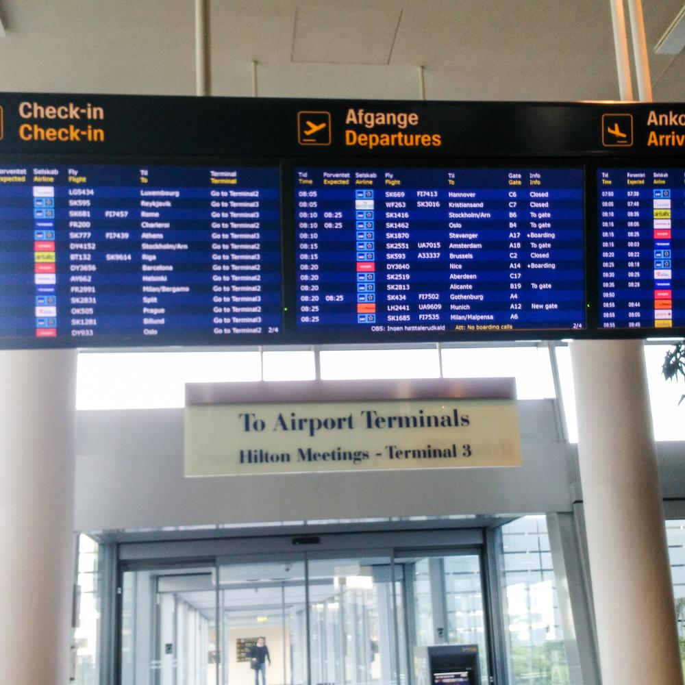 airport, travel, Copenhagen, CPH, Utah, work travel