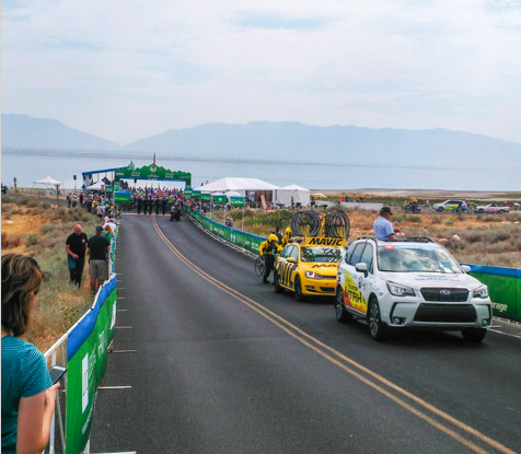 Tour of Utah, pro bike racing, cycling, Utah, sports PR, public relations