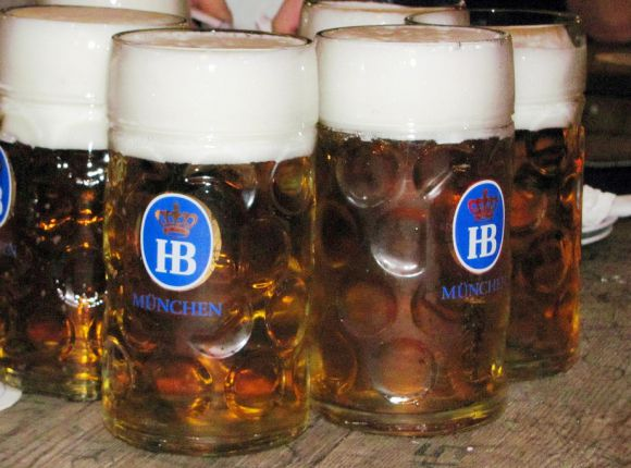 Germany, Oktoberfest, Octoberfest, beers, Munich, work meetings, work travel, travel, beers, steins