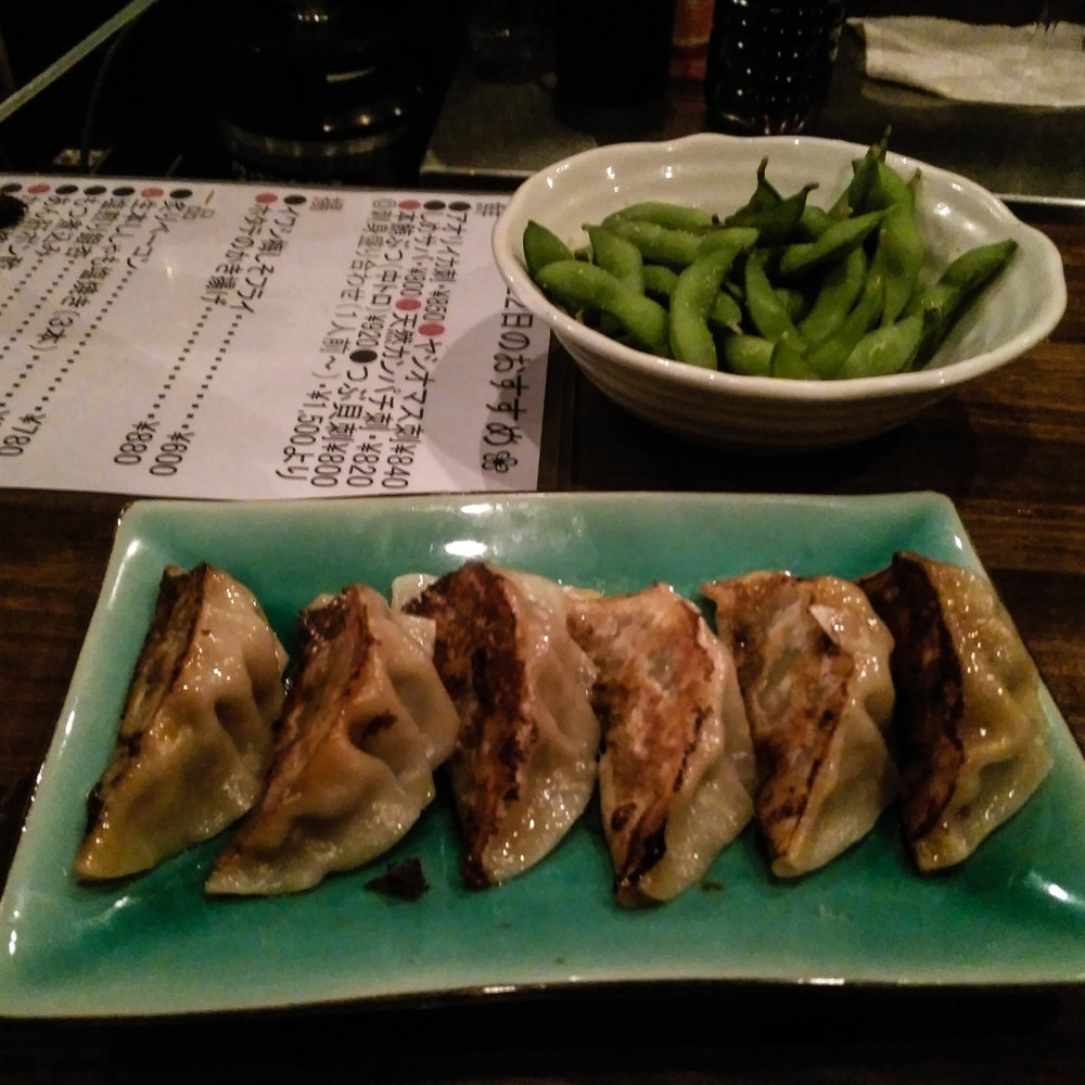 travel, work travel, pro cycling, Japan Cup, sushi, raw fish, gluten free, travel food allergies, travel food, travel healthy, food Japan, Utsunomiya, gyoza