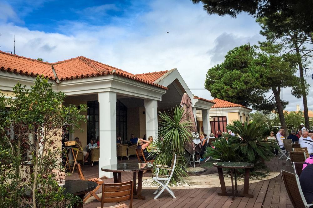 Vila Sol golf clubhouse