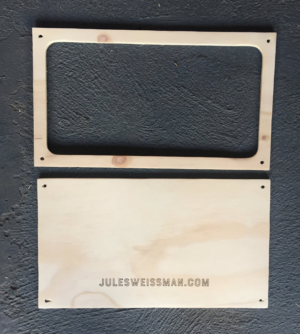 After sanding with medium and extra fine grit sandpaper.