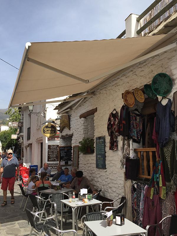Shopping in Capileira