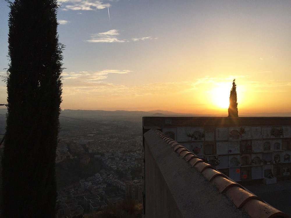 el cementerio de San Jose, Granada