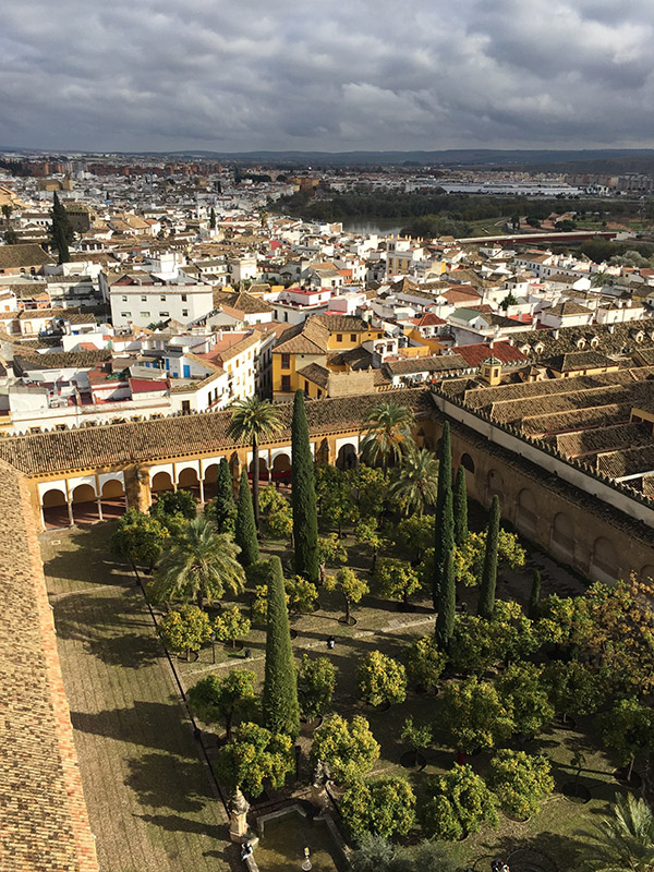 View from the Mezquita Bell Tower