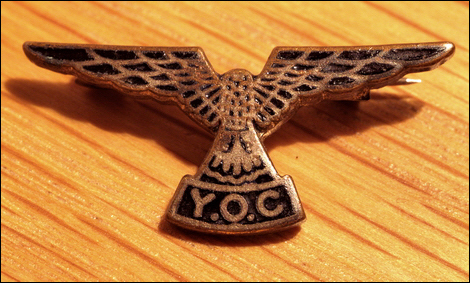 Young ornithologists club badge