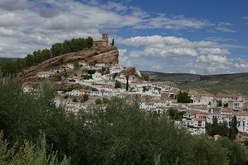 The stunning village of Montefrio