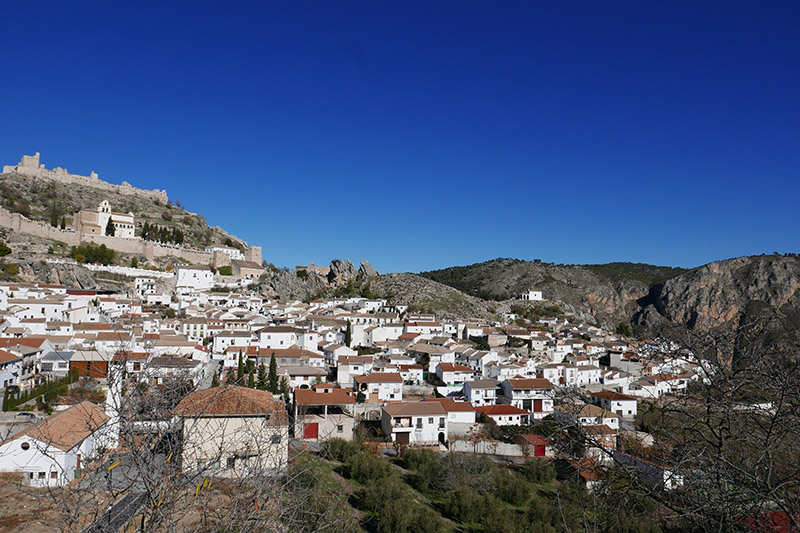 Moclín village