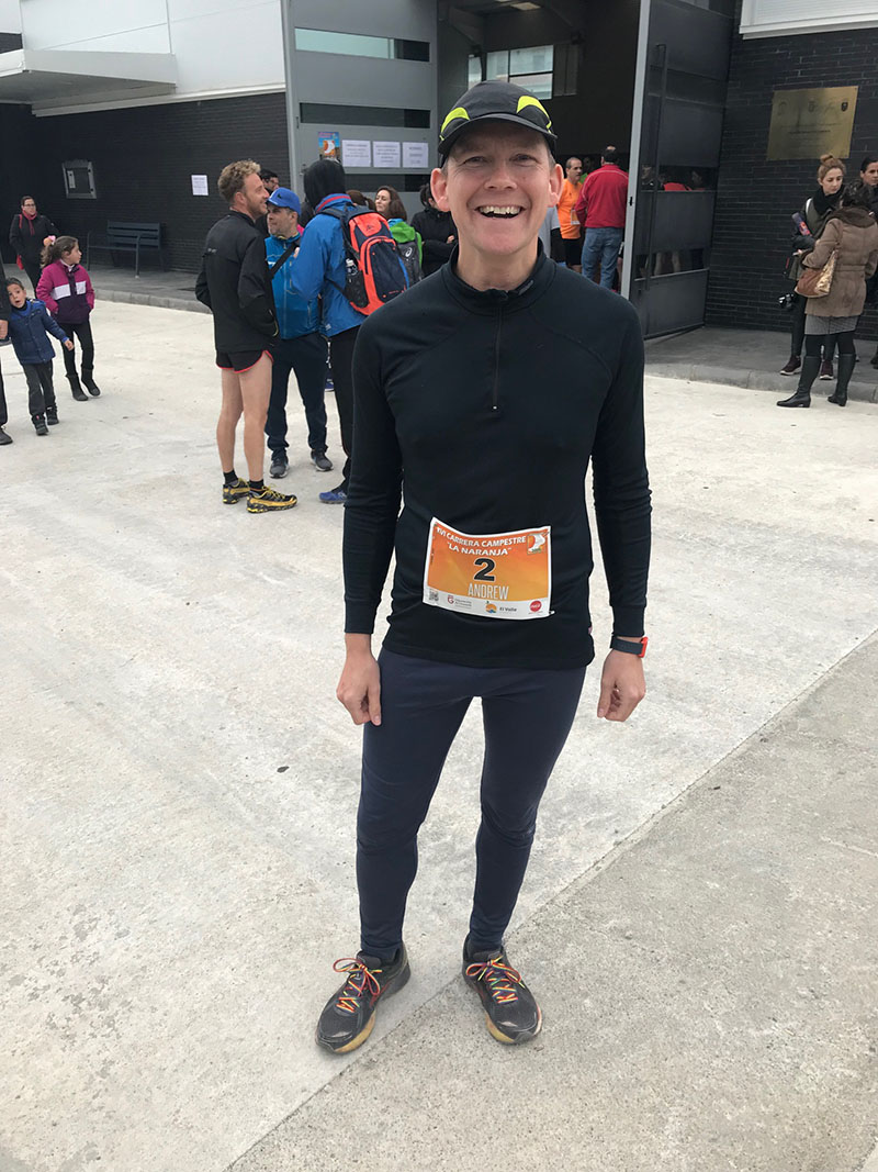 All smiles before the race