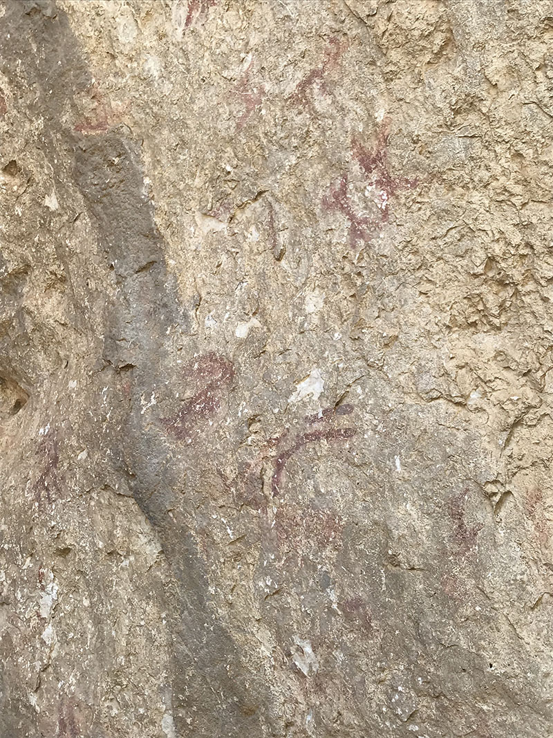 Cueva Corcuela,  neolithic cave paintings