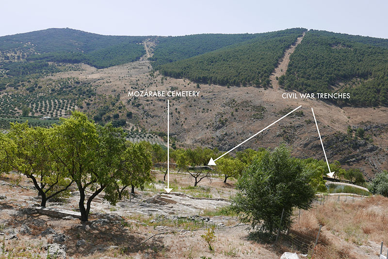 Mozarabe and trenches tozar.jpg