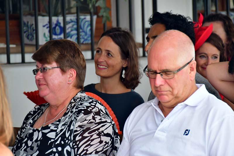 Tony, Janet, Sara (behind)