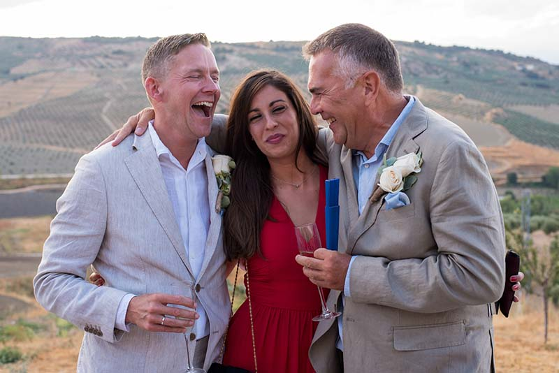 Andrew, Maria, Ian