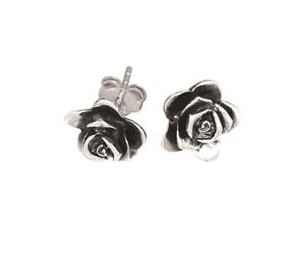 7a1ed1a13 Rawson Brothers Silver Rose Stud Earrings Shop