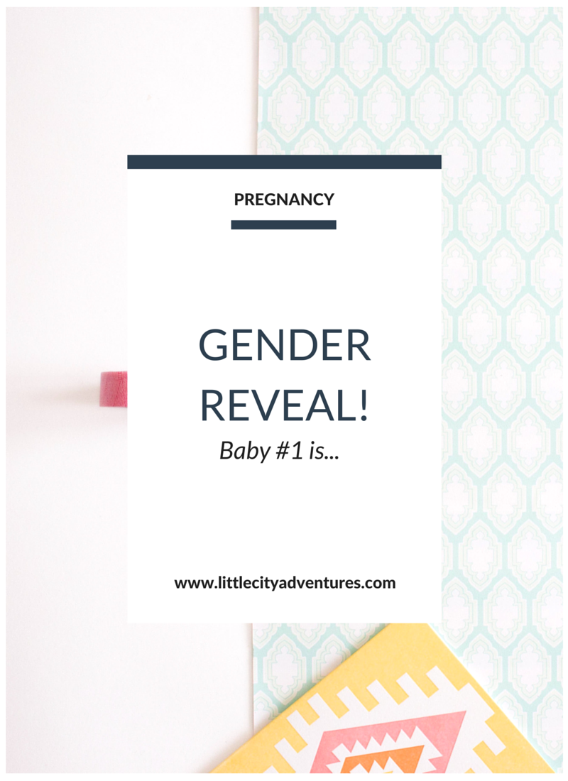 One idea for how to announce baby's gender on social media >>