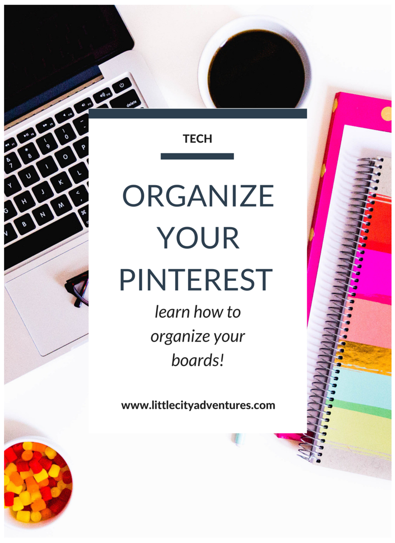 Did you know you can easily organize your boards on Pinterest? Learn how >>
