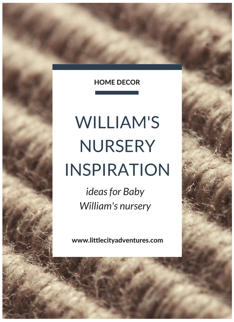 Inspiration for planning a baby boy's nursery >>